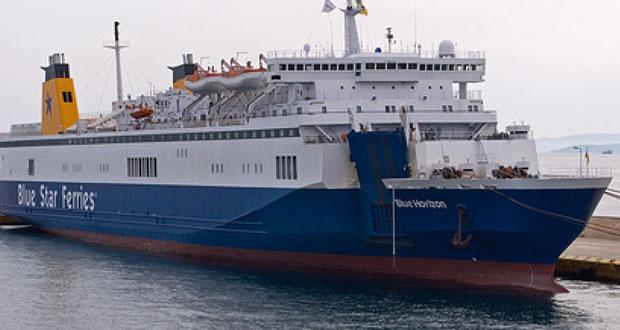 Συνεχίζονται οι έρευνες για τον επιβάτη που έπεσε στη θάλασσα - Στο λιμάνι του Ηρακλείου το πλοίο
