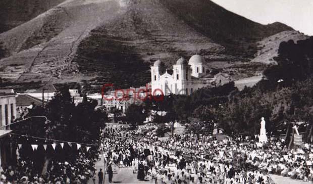 Δεκαπενταύγουστος στην Κρήτη πριν 55 χρόνια, στο ναό της Μεγάλης Παναγίας που χτιζόταν 69 χρόνια! (φωτο)