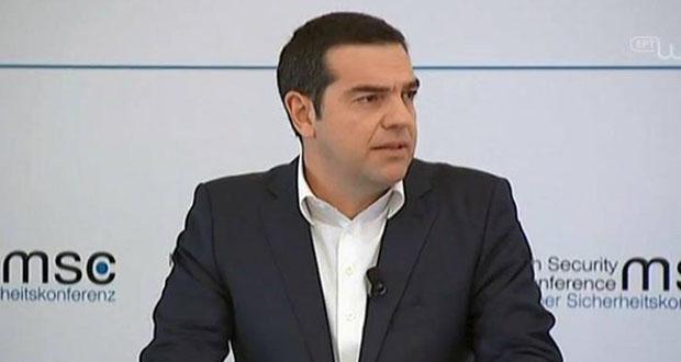 Αλ. Τσίπρας: Είμαστε στη σωστή πλευρά της ιστορίας- Βάλαμε τέλος σε μια μακροχρόνια διαφωνία 30 χρόνων (Βίντεο)